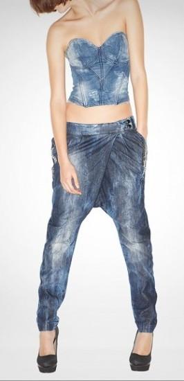 kot yeni moda şalvar pantolon modeli tasarımı