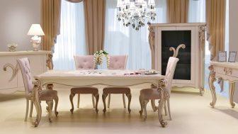 Klasik Yemek Odası Takımları Modelleri