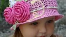 Kız Çocuk Şapka Modelleri