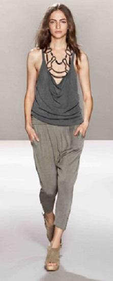 yazlık ince yeni moda şalvar pantolon modeli