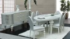 Zebrano Yemek Odası Takımları Modelleri