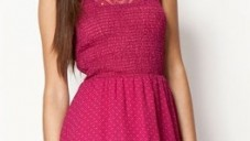 2013 Bayan Sıfır Kollu Elbise Modelleri