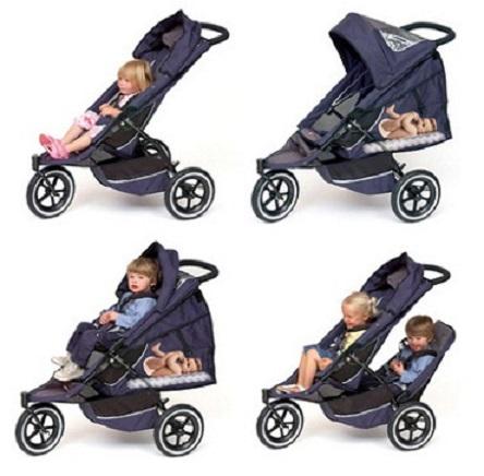ikiz bebek i in bebek arabas modeli kad n moda. Black Bedroom Furniture Sets. Home Design Ideas