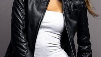 Bayan Deri Ceket Modelleri 2014
