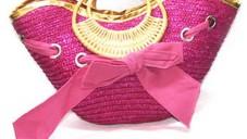 Bayan Hasır Çanta Modelleri