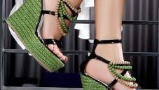 Bayan Boncuklu Ayakkabı Modelleri