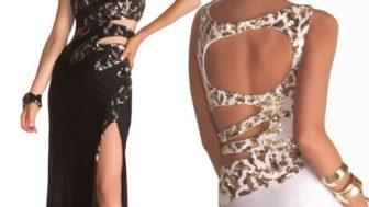 Yazlık Bayan İşlemeli Abiye Elbise Modelleri