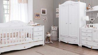 Çilek Bebek Odası Takımları Modelleri