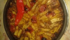 Çanakta Etli Patates Tarifi