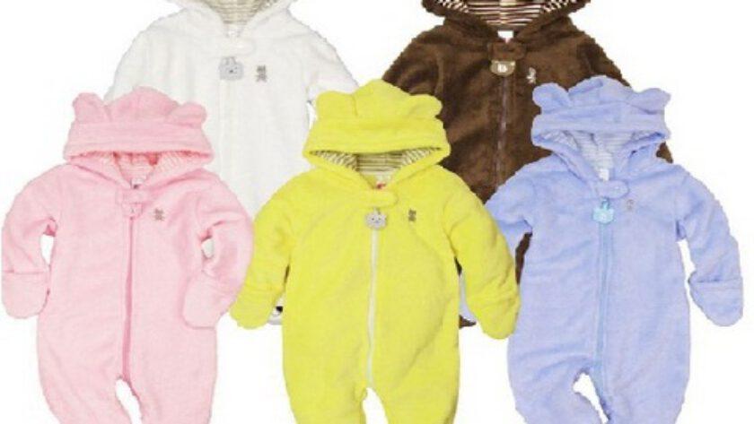 Kışlık Kız-Erkek Bebek Uyku Tulumu Modelleri