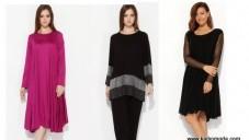 2014-2015 Yeni Sezon Hüseyin Küçük Büyük Beden Elbise Modelleri