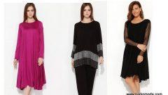 Yeni Sezon Hüseyin Küçük Büyük Beden Elbise Modelleri