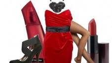 2015 Yılbaşı Gecesi İçin Kırmızı Renk Elbise Kombin Modelleri