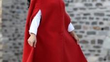 Yeni Sezon Tesettür Kadın Panço Modelleri