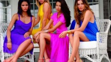 Neon Renk Bayan Elbise Modelleri