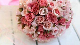 Doğal Görünümlü Yapay Gelin El Çiçeği Modelleri
