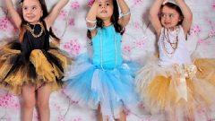 Kız Çocuk Tütü Etek Modelleri
