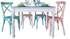 Vintage Masa Sandalye Modelleri
