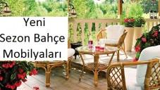 Yeni Sezon Bahçe Masa Sandalye  Modelleri