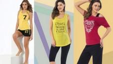 Siyah İnci 2015 Bayan Yazlık Pijama Takımı Modelleri