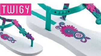 Yeni Sezon Twigy Bayan Plaj Terlik Modelleri