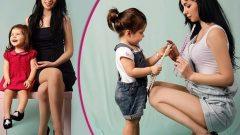 Anne Kız & Anne Oğul Ayakkabı Kombin Modelleri