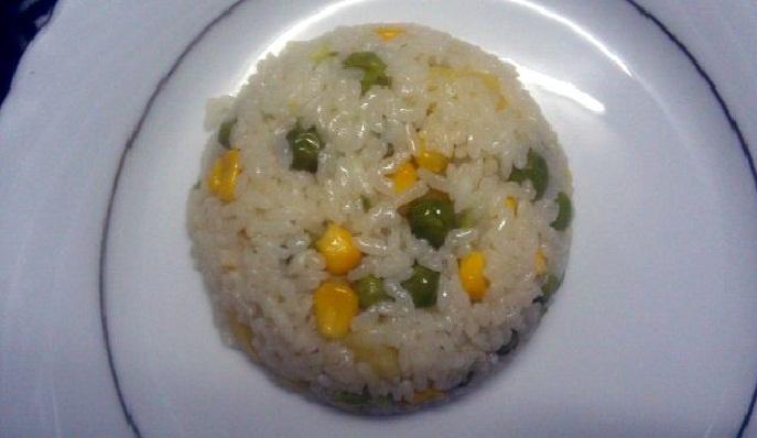 Sebzeli pirinç pilavı  ramazan altıncı gün menasa