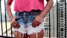 Eski Kot Pantolonlardan Anlatımlı Şort Yapımı Modelleri