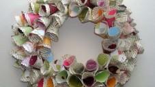 Atık Gazete Kağıtlarından Tasarlanmış Dekoratif Objeler Ve Yapılış Aşamaları
