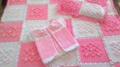 Yeni Doğan Bebekler İçin Elörgüsü Battaniye Modelleri