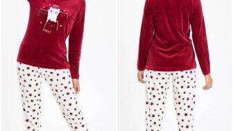DeFacto Kışlık Kadın Pijama Modelleri