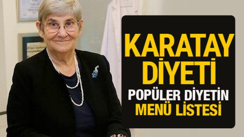 Canan Karatay'ın En Çok İlgi Gören En Etkili Haftalık Diyet Listesi
