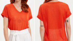 Defacto Kadın T-Shirt Modelleri