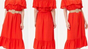 DeFacto Yazlık Kadın Elbise Modelleri