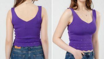 Yazlık Crop Bayan Bluz Modelleri