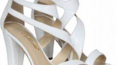 CZ London Platform Tabanlı Yüksek Topuklu Kadın Sandalet Modelleri