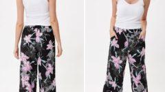 DeFacto Bol Kesim Yazlık Kadın Pantolon Modelleri