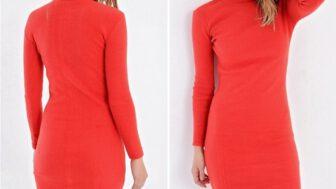 Triko Kadın Elbise Modelleri