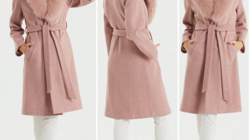 Kısa Kürklü Kadın Palto Modelleri