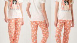 Lcwaikiki Kadın Pijama Takımı Modelleri