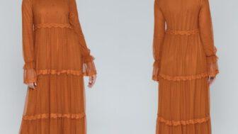 Armine Tesettürlü Kadın Elbise Modelleri