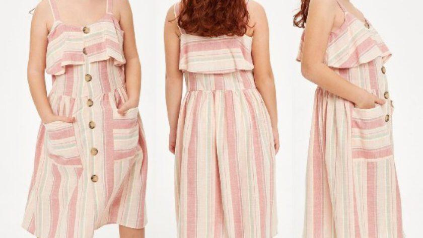 DeFacto Yazlık Kız Çocuk Elbise Modelleri