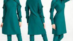 Tesettürlü Kadın Haşema Mayo Modelleri