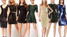Payetli Abiye Elbise Modelleri