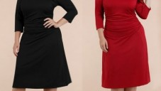 Büyük Beden Bayan Elbise Modelleri